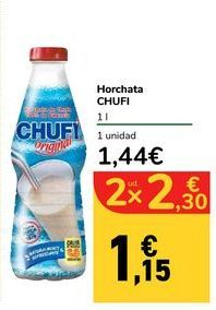 Oferta de Horchata CHUFI por 1,44€