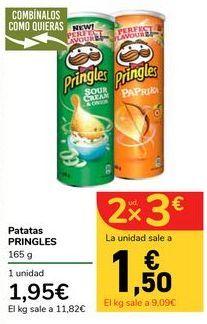 Oferta de Patatas PRINGLES por 1,95€