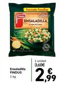 Oferta de Ensaladilla FINDUS por 2,99€