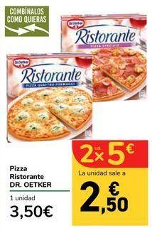 Oferta de Pizza Ristorante DR.OETKER por 3,5€