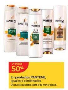 Oferta de En productos PANTENE, iguales o combinados por