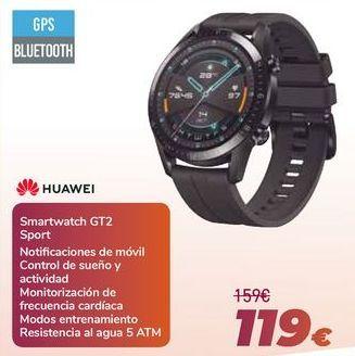 Oferta de HUAWEI Smartwatch GT2 Sport por 119€