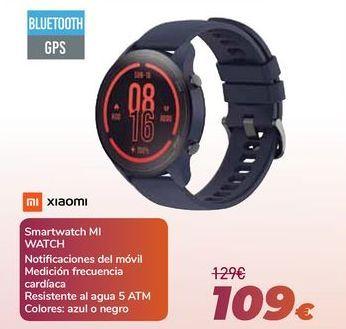 Oferta de XIAOMI Smartwatch MI WATCH por 109€