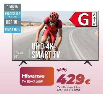 Oferta de Hisense TV 50A7100F por 429€