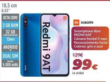 Oferta de XIAOMI Smartphone libre REDMI 9AT por 99€