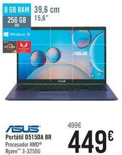 Oferta de ASUS Portátil D515DA BR  por 449€