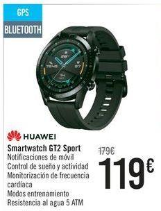 Oferta de Smartwatch GT2 Sport HUAWEI por 119€