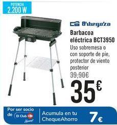 Oferta de Orbegozo Barbacoa eléctrica BCT3950  por 35€
