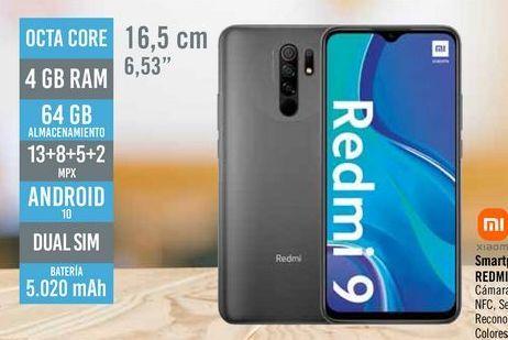 Oferta de Smartphone libre REDMI 9  por 129€