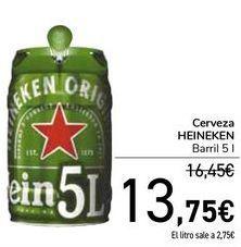 Oferta de Cerveza HEINEKEN  por 13,75€