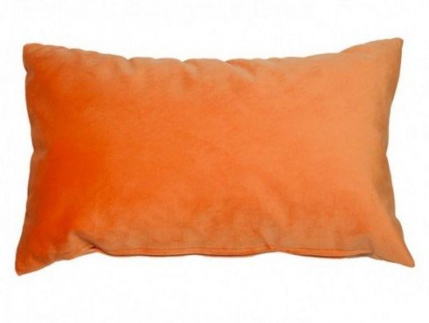 Oferta de Cojín Velvet naranja por 16€