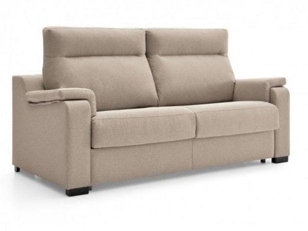 Oferta de Sofá cama sistema de apertura italiano tapizado beige por 916€