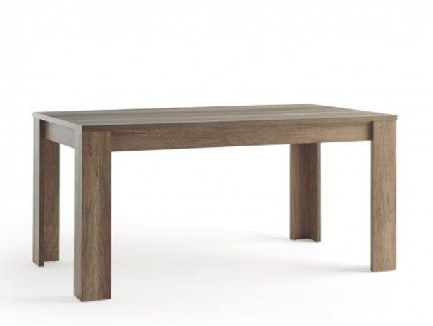 Oferta de Mesa rectangular fija color madera por 169€