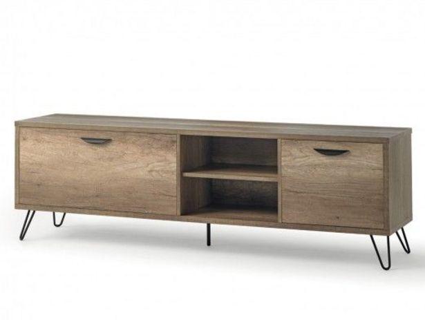 Oferta de Mueble TV de 2 puertas color madera por 300€