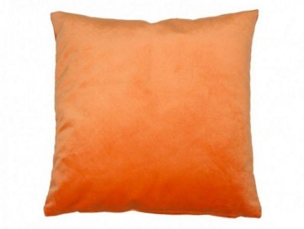Oferta de Cojín Velvet naranja por 18€