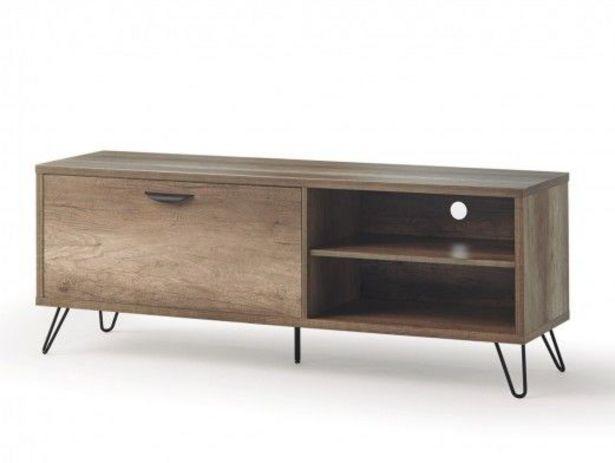 Oferta de Mueble TV de 1 puerta color madera por 273€