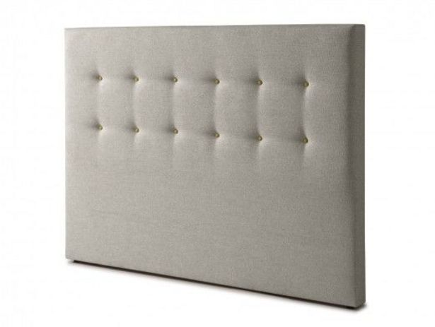 Oferta de Cabecero tapizado savana light grey por 129€