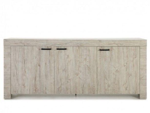 Oferta de Aparador de 3 puertas color madera claro por 382€
