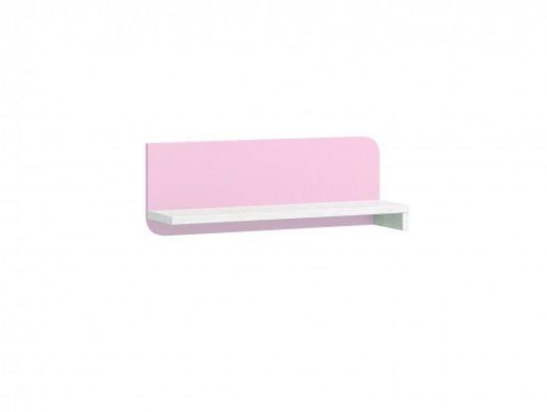 Oferta de Estante pared color ártico-rosa por 82€