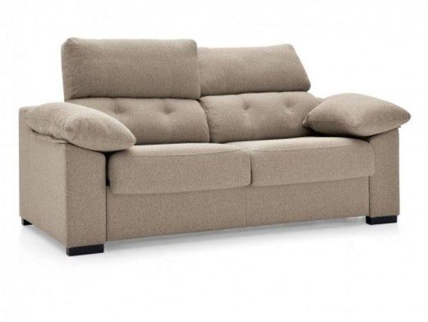 Oferta de Sofá cama sistema de apertura italiano tapizado beige por 1038€