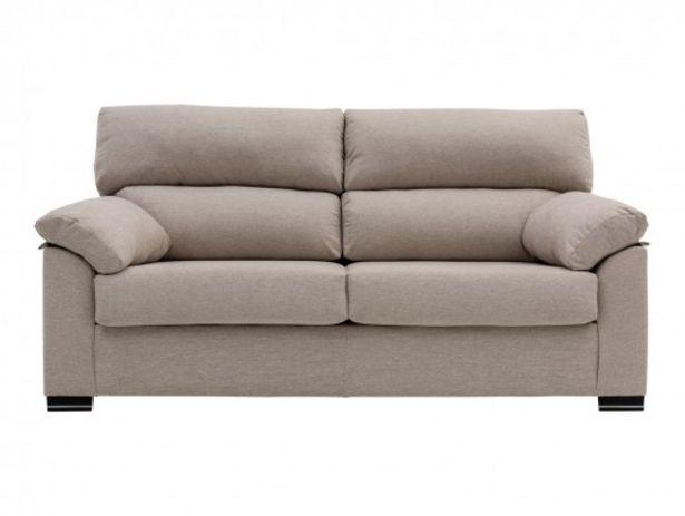 Oferta de Sofá de 2 plazas tapizado beige por 288€
