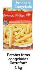 Oferta de Patatas fritas congeladas carrefour 1kg por 0,99€
