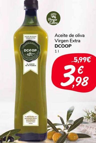 Oferta de Aceite de oliva virgen extra DCOOP 1l por 3,98€