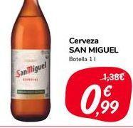 Oferta de Cerveza San Miguel por 0,99€
