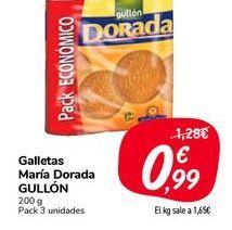 Oferta de Galletas Maria Dorada Gullón por 0,99€