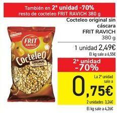 Oferta de Cocteleo original sin cáscara FRIT RAVICH  por 2,49€
