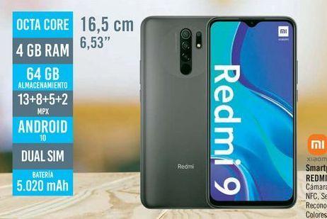 Oferta de Smartphone libre REDMI 9  por 139€