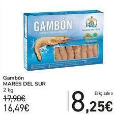Oferta de Gambón MARES DEL SUR por 16,49€