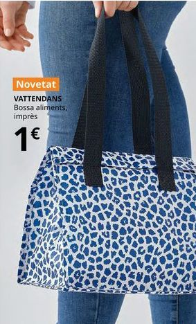 Oferta de Bolso para alimentos impreso VATTENDANS por 1€