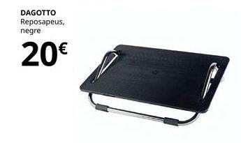 Oferta de Reposapiés negro Dagotto  por 20€