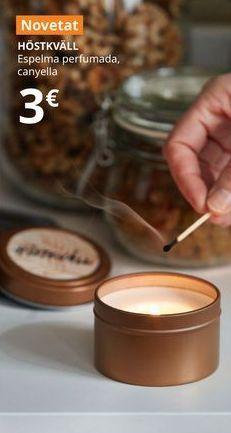 Oferta de Vela perfumada canela HOSTKVALL por 3€