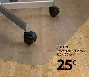 Oferta de Protector de suelo 120 x 100 cm KOLON por 25€