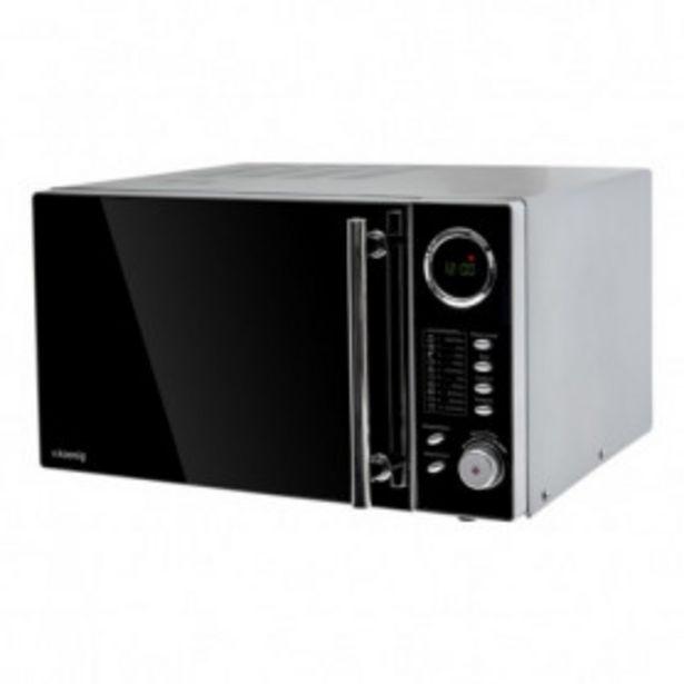 Oferta de Microondas con Grill, 1000 W, 25 Litros, 10 Configuraciones. por 142,99€