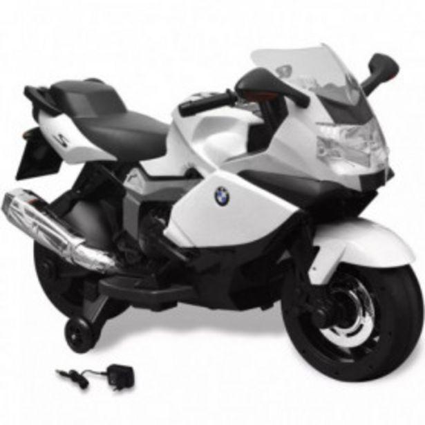 Oferta de Moto eléctrica de juguete color blanca, modelo BMW 283 6 V por 205,45€