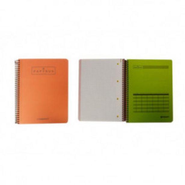 Oferta de Cuaderno de escribir 120 hojas unipapel papyrus a5 c5 por 1,79€