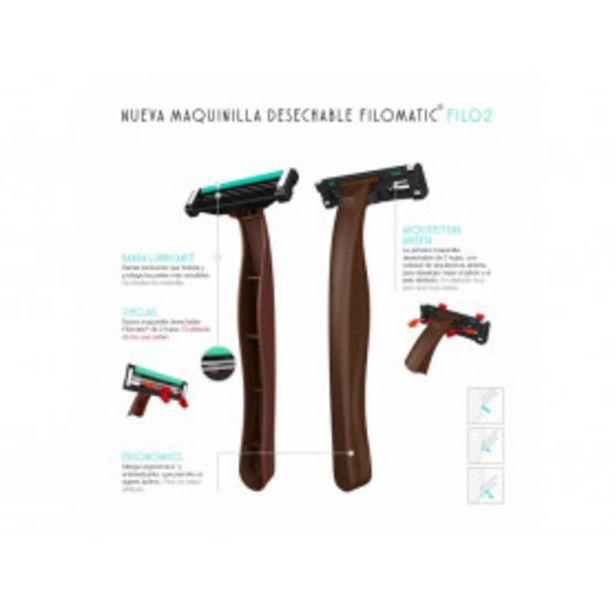 Oferta de Bolsa de 50 unidades de cuchillas FILOMATIC Filo2 por 19,99€