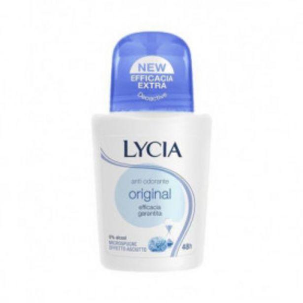 Oferta de LYCIA DESODORANTE ROLL ON ORIGINAL 50ML por 1,5€