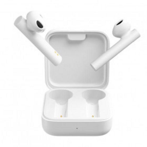Oferta de Auriculares Inalámbricos Xiaomi Mi True Wireless Earphones 2 Basic por 24,99€