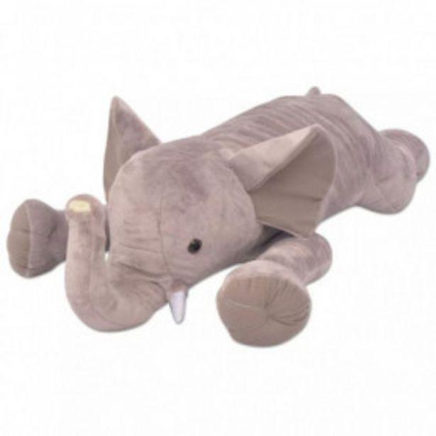 Oferta de Elefante de peluche XXL 120 cm por 64,08€