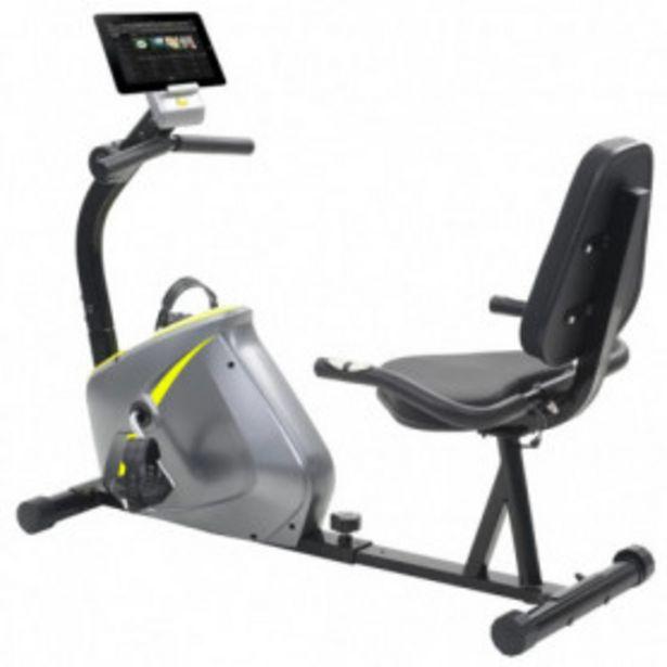 Oferta de Bicicleta estática reclinada magnética con pulsómetro por 194,14€