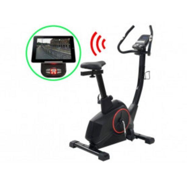 Oferta de Bicicleta estática magnética con pulsometro programable por 319,49€