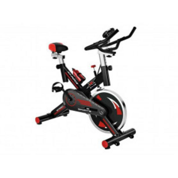 Oferta de Bicicleta estática Fit-Force X24KG con volante de inercia de 24 kilos por 229,99€
