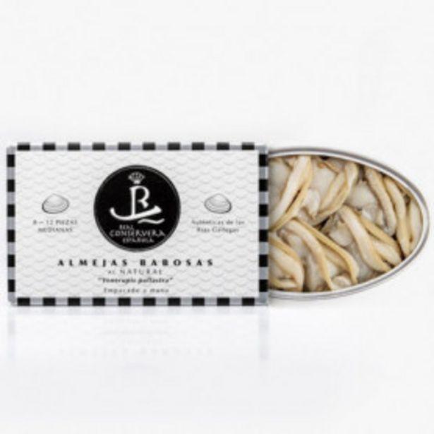 Oferta de Almejas Al Natural 12 Piezas Real Conservera Española 80gr. por 21,99€