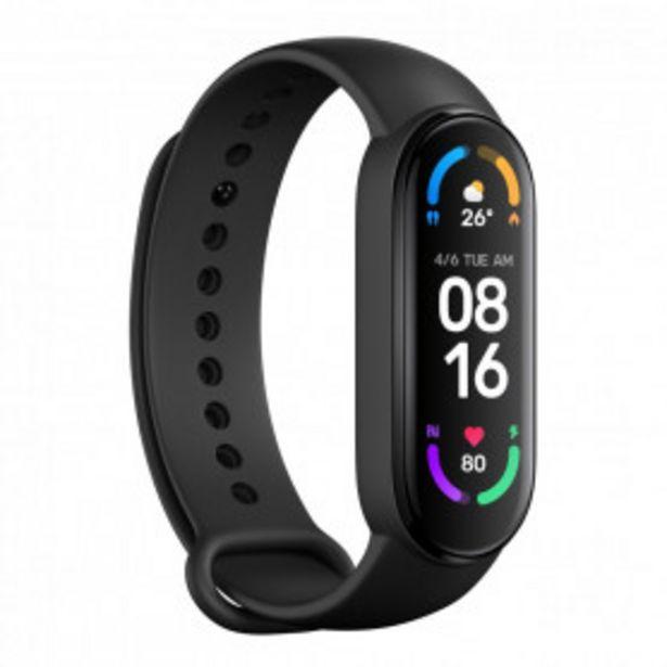 Oferta de Pulsera De Actividad Xiaomi Mi Smart Band 6 Negra por 39,99€