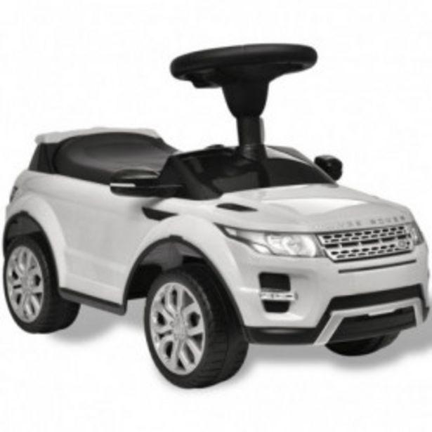 Oferta de Coche de juguete blanco con música, modelo Land Rover 348 por 65,96€