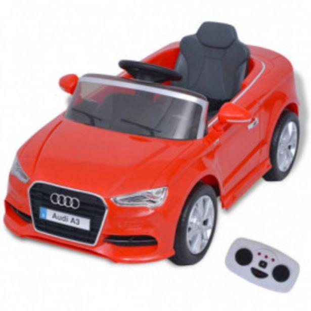 Oferta de Coche eléctrico con control remoto Audi A3 rojo por 167,76€